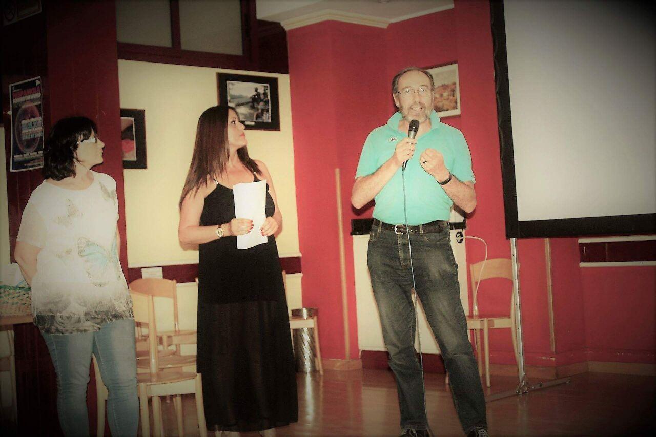Rosella e Luciano prensentano i progetti di Coloresperanza in Repubblica Dominicana